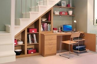 Эргономичное использование пространства под лестницей